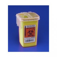 Sharps Container Phlebotomy Yellow 1L Tyco - 8906- 6 per ORDER