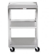Medical  Stainless Steel Cart Instrument trolley / medical / 3 trays MB 4004