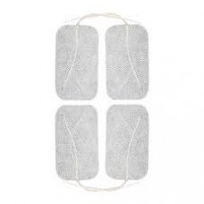 "4""x2""-White Electrodes  Size- 4""x2"" 4 pack of 10-( 40 -Electrodes)-pads Tens pads"