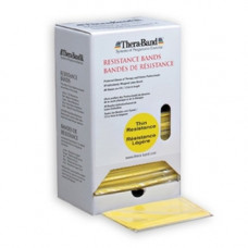 Thera-Band Resistance Band Dispenser Packs Color Yellow, Thin TH-20520