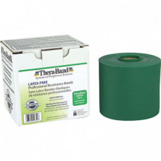 Thera-Band Latex-Free Resistance Band 25-Yard Roll - GREEN COLOR