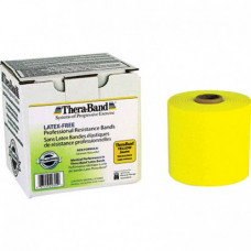 Thera-Band Latex-Free Resistance Band 25-Yard Roll - YELLOW COLOR