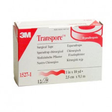 "Transpore Tape 3M- 1527 1"" 12/box (2 boxes/case for $46.00)"