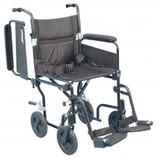 "Airgo Comfort-Plus Lightweight Transport Chair-700-846-19"" width"