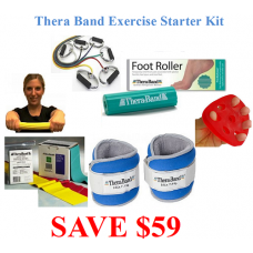 Thera Band Exercise Starter Kit - Good For Seniors