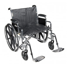 "Sentra EC Heavy Duty Wheelchair - 22"" Wide- Bariatric Sentra EC Heavy Duty"