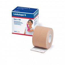 Leukotape K 5cm x 5m -Beidge Color -One roll per order