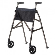 Stander EZ Fold-N-Go Walker-Black Color-Model 4300