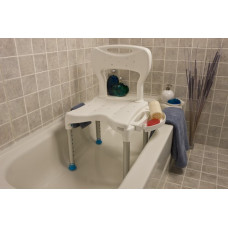 Dana Douglas Look Large Shower Seat with Back