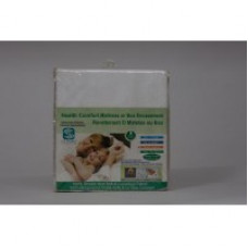 Mattress / Box Encasement Terry (Silpure, Antimicrobial, Waterproof) Bed Bug, Dust Mite, Allergies, Water & Stain Protection