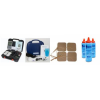 "Combo Pack -TwinStim Plus +US 2000 Portable Ultrasound+5/pk2x2""Pads+3gel"