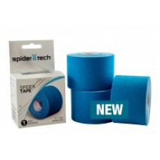Spider Tech Original Tape Kinesiology  Single roll Box - 50mm x 5m -3 Roll per order Blue color