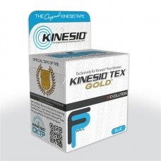 "Kinesio Tex Gold Tape FP BLUE W/R 2"" x 16.4' -2 roll per order"