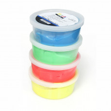 Theraputty / Rehab Putty 2oz - Yellow-Red-Green and Blue -one each