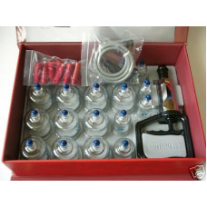 BODYMATE 19 Piece Premium Heat / Shock resistant cupping set
