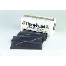 Theraband  Professional Resistance Band Black (Special Heavy) 6 Yard Roll