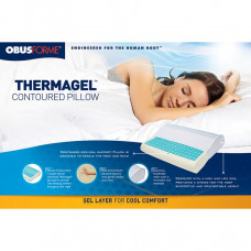 Obus Forme-Thermagel Memory Foam Contour Pillow-Model: PL-GEL-CT