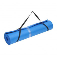 Soozier Extra Wide Non-Slip Yoga Mat - Blue