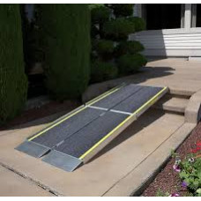 Wheelchair Ramp -Ez-Access-Made in USA Trifold Ramp Advantage Series, 7 Feet, 48 Pound