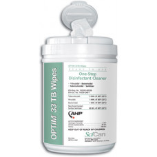 OPTIM 33 TB surface cleaner disinfectant Wipes $239 FOR 12 Pack