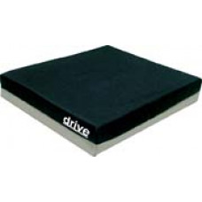 "Drive -  Gel ""E"" 3"" Wheelchair Cushion with Gel Bladder 20"" x 16"" x 3"""