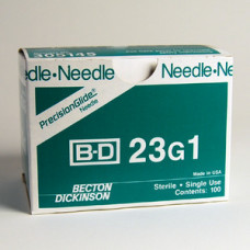 BD 305145  Needle Only 23 Gauge 1 inch 400/box per order