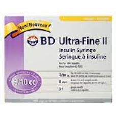 BD 320144 ULTRA-FINE INSULIN PEN NEEDLE 32GX4MM NANO BOX/100