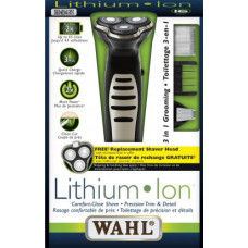 WAHL-3600- Lithium ION Shaver Made in USA Shaving & Trimming