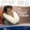 The OBUS FORME Memory Foam Travel Pillow