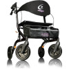 Airgo eXcursion X20 Lightweight Side-fold Rollator 700-920 Black