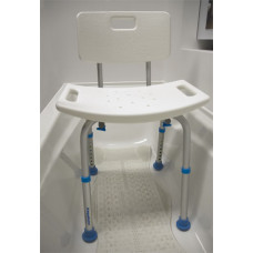 Aquasense Adjustable Bath Seat With Back-770-519
