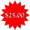 $25.00 addtional cost