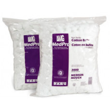 AMG MedPro NonSterile Cotton Balls  Med.2000/per BAGS 2 Bags/CS