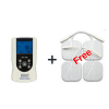 InTENSity Micro Combo Dual Channel TENS Unit and Micro Unit With 1 Pack of Free Electrodes(4 electrodes)