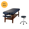 Fully Loaded Deluxe Stationary Massage Table Includes a Free Stool