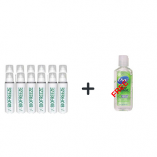 Biofreeze 4 oz Spray12 Pack and Get a Free Dial Hand Sanitizer
