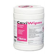 "CAVIWIPES DISINFECTING TOWELLETE (6"" X 6.75"") - 160 WIPES PER CANISTER, REGULAR -EACH"