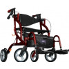Airgo Fusion F18 Side-Folding Rollator & Transport Chair-700-938