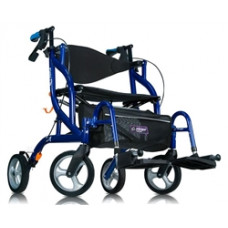 Airgo Fusion F20 Side-Folding Rollator & Transport Chair-700-935