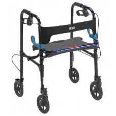 "CLEVER-LITE ROLLATOR WALKER WITH 8"" WHEELS 10243"