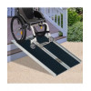 4ft Foldable Portable Wheelchair Ramp Scooter Mobility Easy Access Carrier Ramp