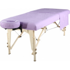 Lavender-Flannel 3pc Massage Table Sheet Set