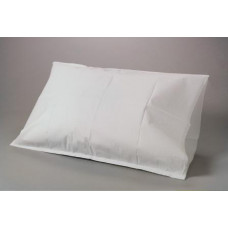 Disposable Tissue Poly Paper Pillow Case, 21X30, 100/CT, White