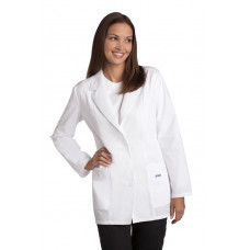 Ladies Fitted Fashion Lab Coat- L395