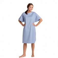 Patients Night Gown Style: PG550 Blue Pac of 6