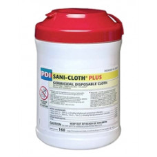 Sani-Cloth Plus Germicidal Disposable Cloth Tub/160  PACK OF 3 -Disinfectant