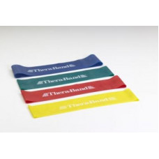 "Thera-Band  Loops 8"" 4 resistance levels, Yellow,Red,Green,Blue"