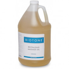 Biotone Revitalizing Massage Oil Unscented 1 Gallon