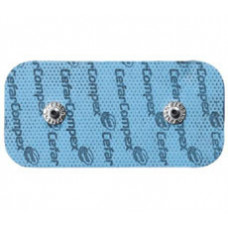 "Compex Easy Snap Electrode (2""x4"") 2/ pk-Total 8 Electrodes only-42216"