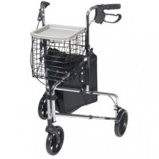 Deluxe 3-Wheel Steel Rollator - 171